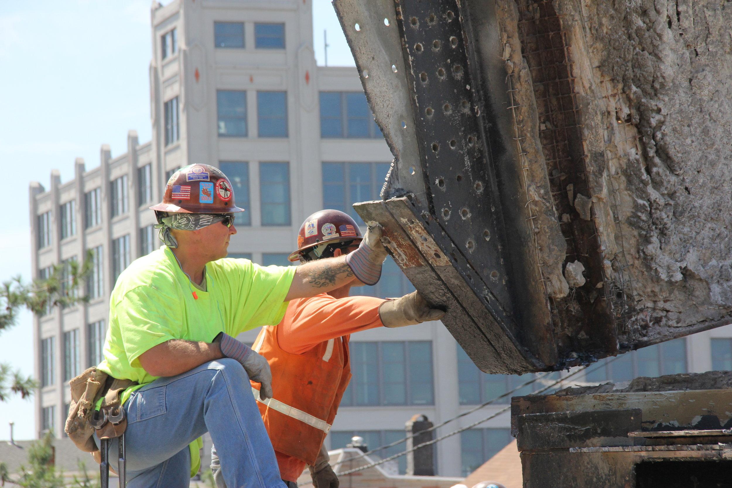 Jersey City NJ, Pulaski Skyway Reconstruction 06.JPG