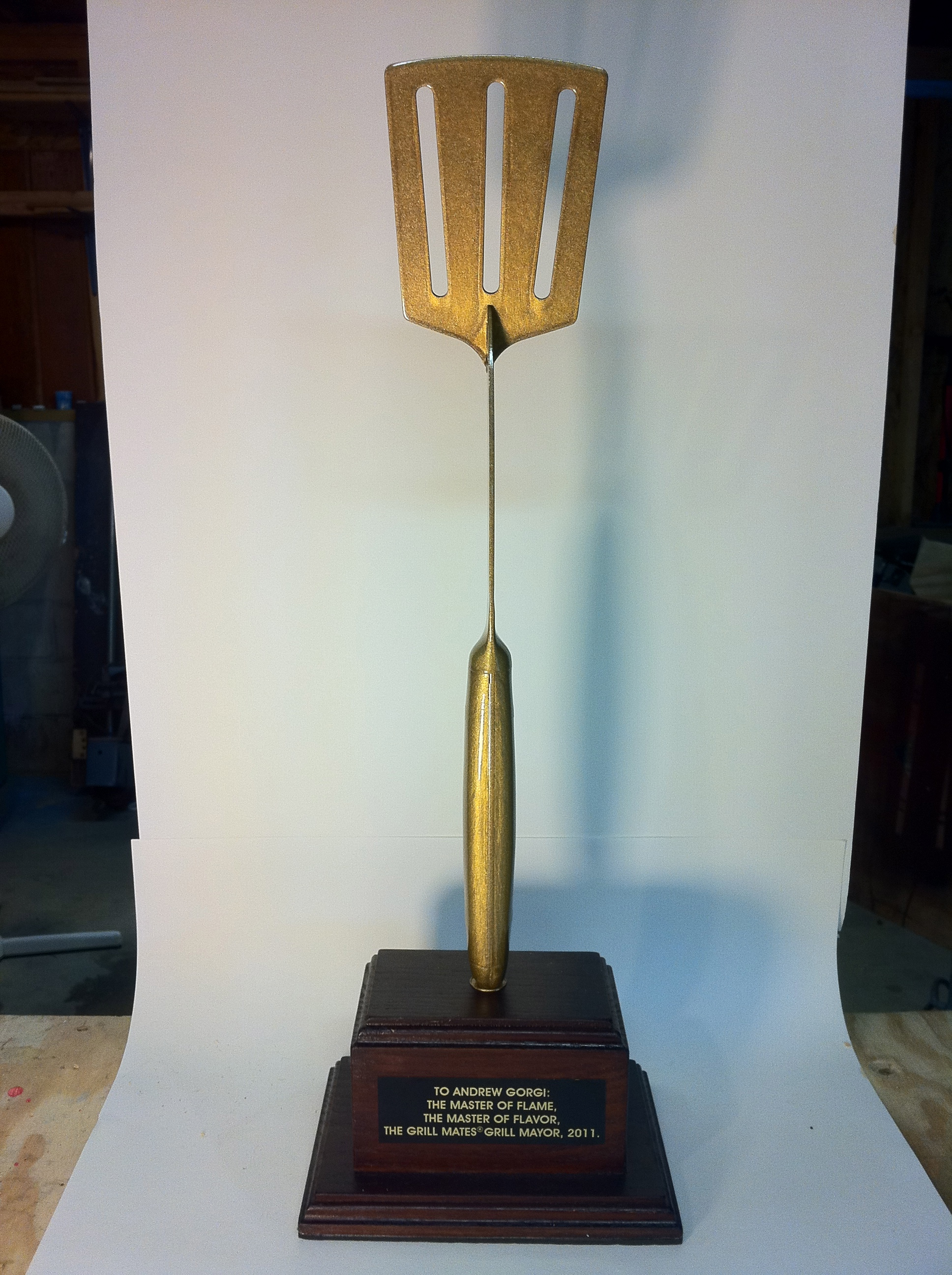 Golden Spatula Award for McCormicks Spices promotion.