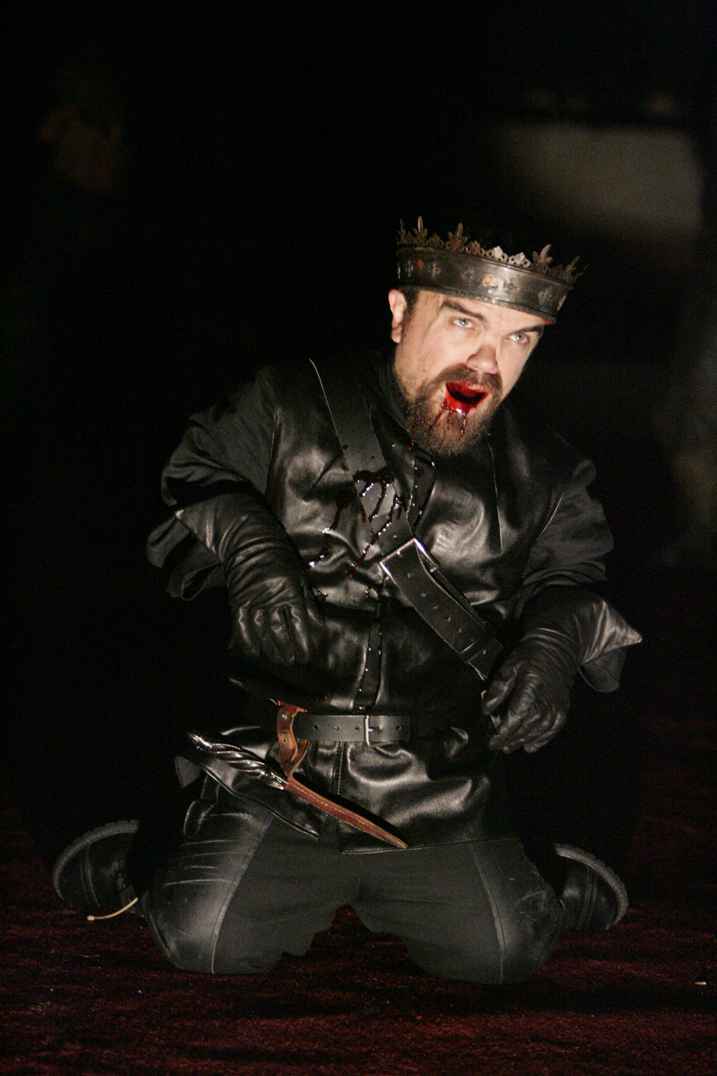 Richard III  by William Shakespeare, directed by Peter DuBois, starring Peter Dinklage, The Public Theater, New York, NY. 2004 © Michal Daniel.