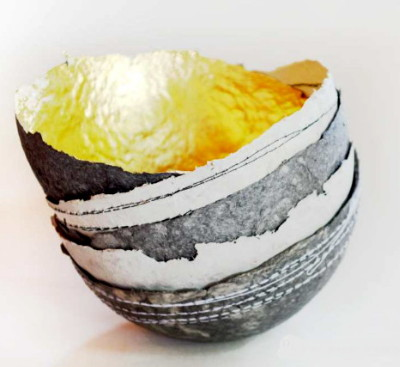 Small Paper Pulp Bowl