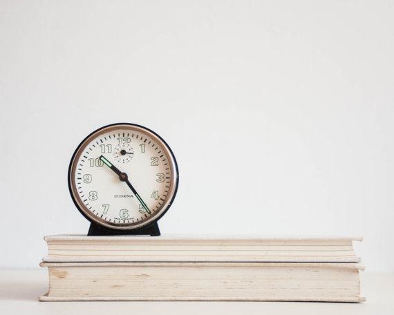 Dugena German Vintage Desk Clock