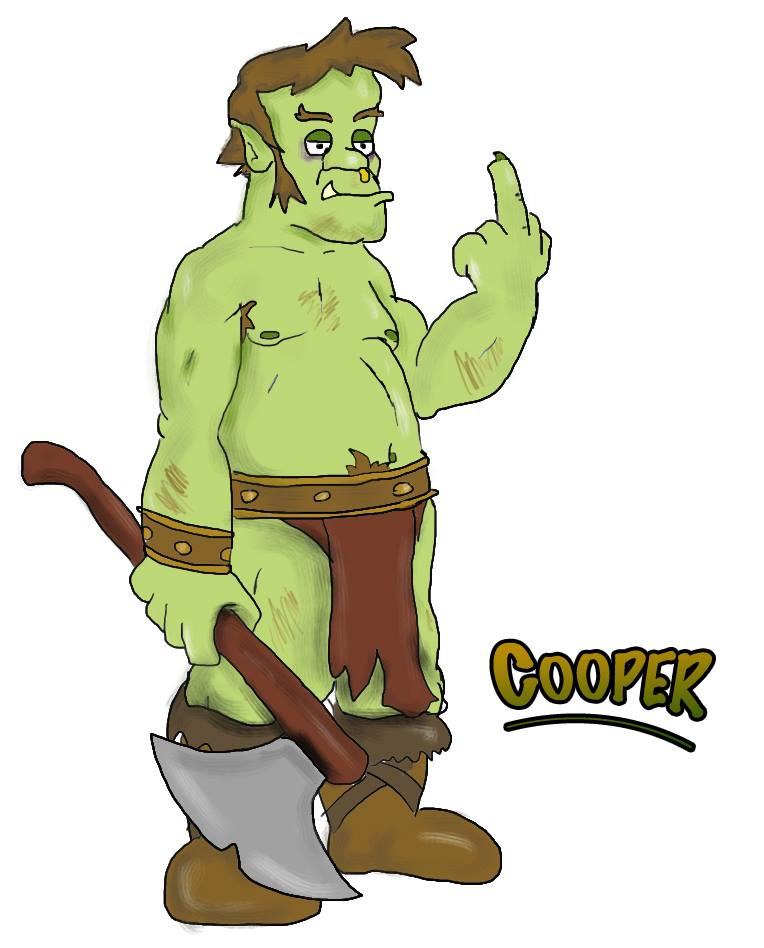 Cooper, courtesy of Steve Wetherell. For his collection of Humor, Fantasy, Sci - Fi, and even Horror, visit  his Amazon page .