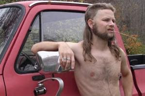 """""""Mine's called the  Aluminum Falcon . My protagonist, Nathaniel Jefferson Whitepower, made it in his daddy's garage using only old Coors Light cans. It's got a rubber nutsack hangin' from the trailer hitch, and one of them stickers with Calvin pissin' on a Ford logo."""""""