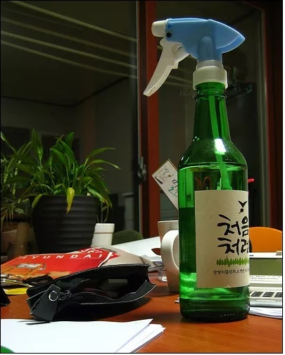Soju: The quicker fucker-upper.