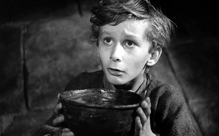 """""""  Please, sir. I want some more.  """"      You got it,  Tiny Tim ."""