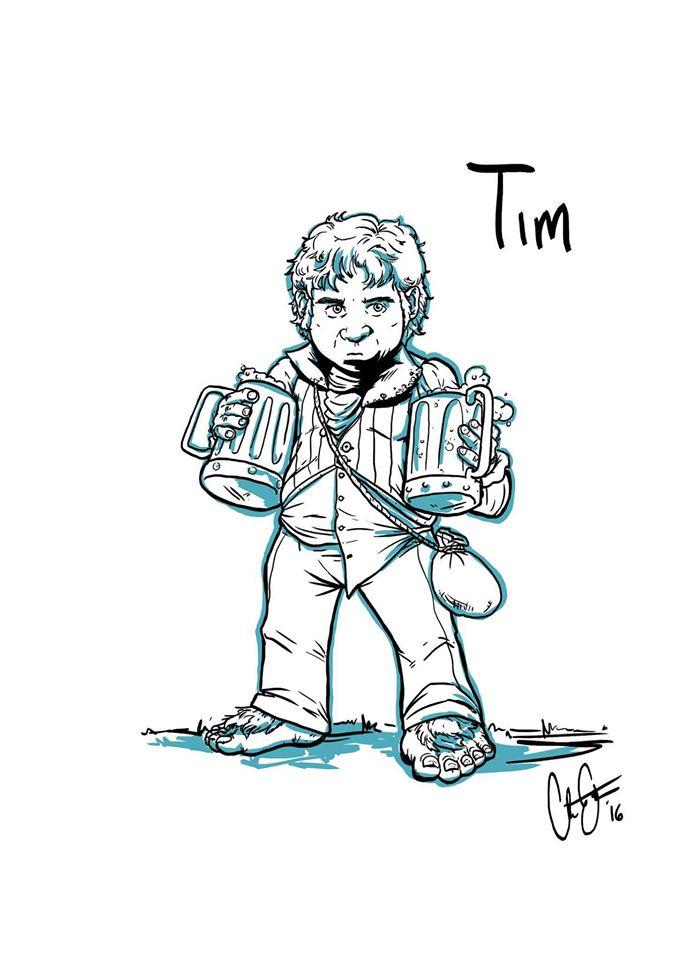 Tim, courtesy of Christopher Enterline.