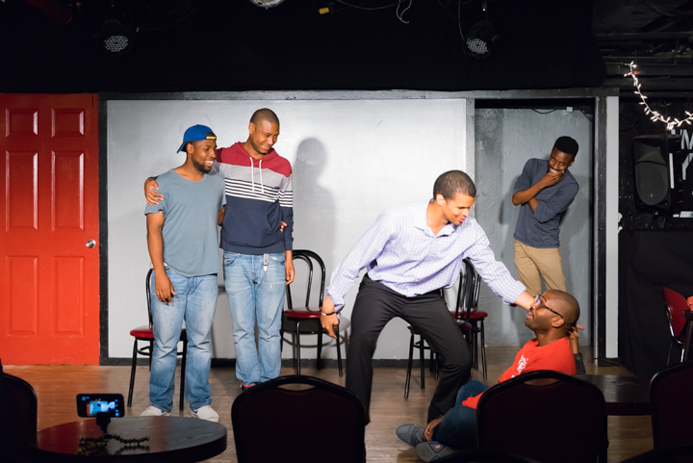 Improv Group, Straight White Men, at People's Improv Theater