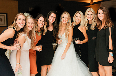 Reception Photography, special friends picture. | Debra Eby Photography Co.