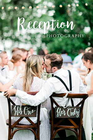 Tips on the best Reception Photography for your Wedding Day. | Debra Eby Photography Co.