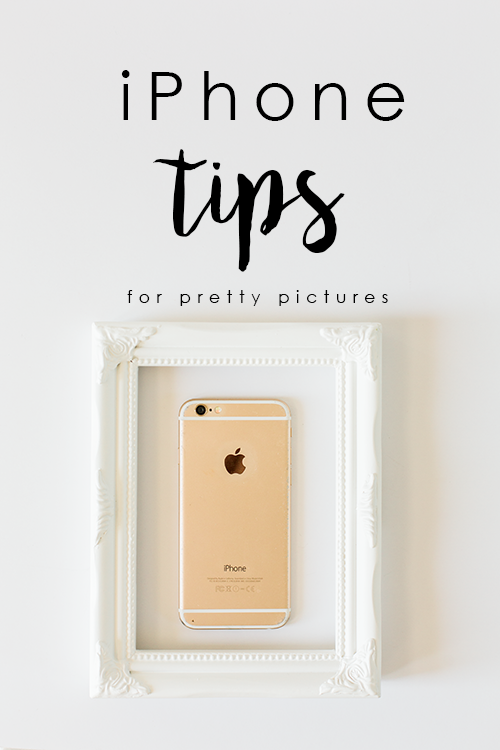Tips for making pretty iPhone pictures | Debra Eby Photography Co.