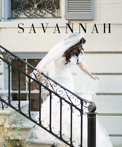 Picture of a Savannah, Georgia Bride