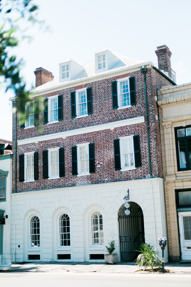 Historic architecture in Charleston, South Carolina