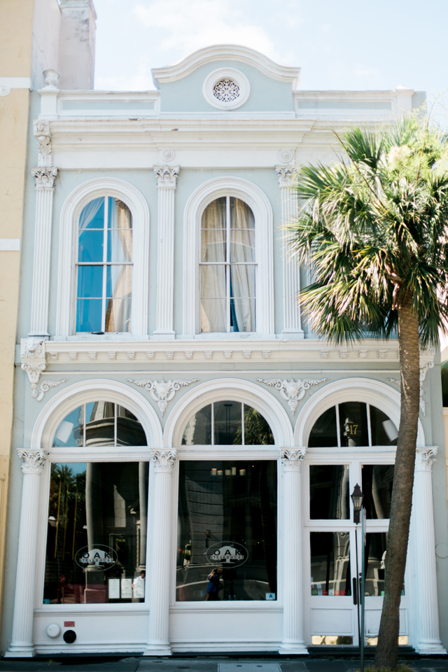 Historic architecture in Charleston, South Carolina