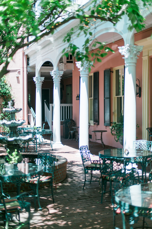 Architecture in historic Charleston, South Carolina