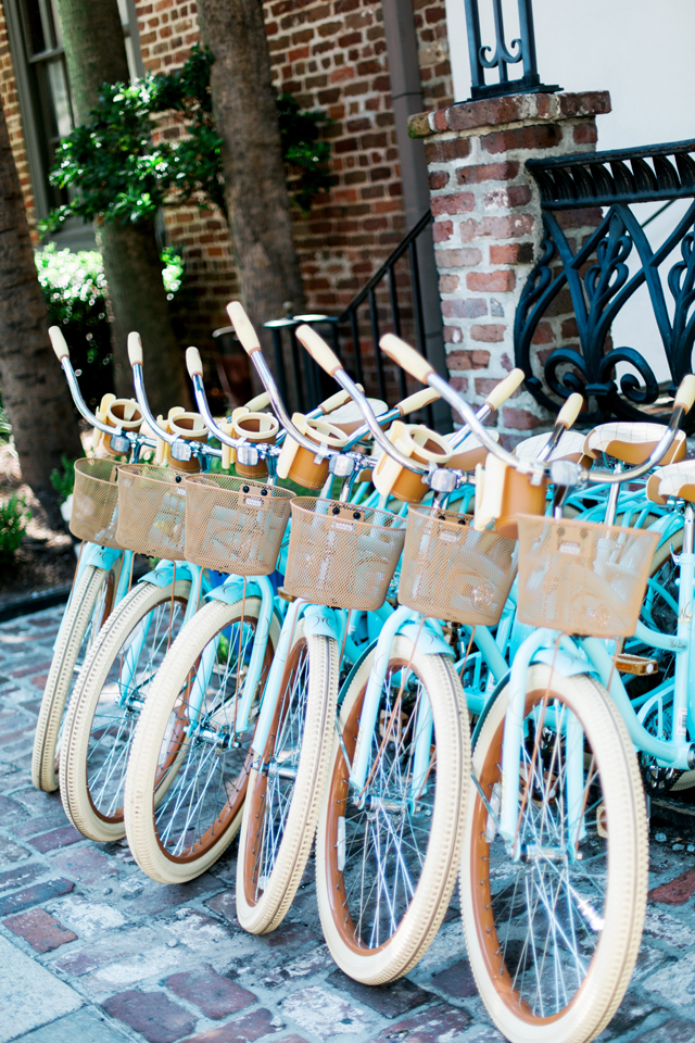 Pretty bikes in historic Charleston, South Carolina