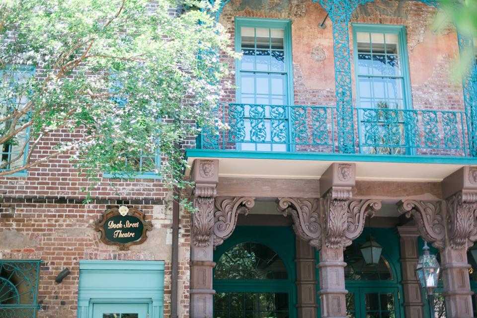 The Dock Street Theater in historic Charleston, South Carolina