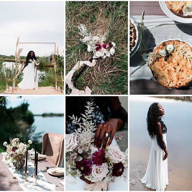 All the Florida autumn feels with this recent bridal editorial. Love doing creative work with such talented colleagues. #styledshoot #editorial