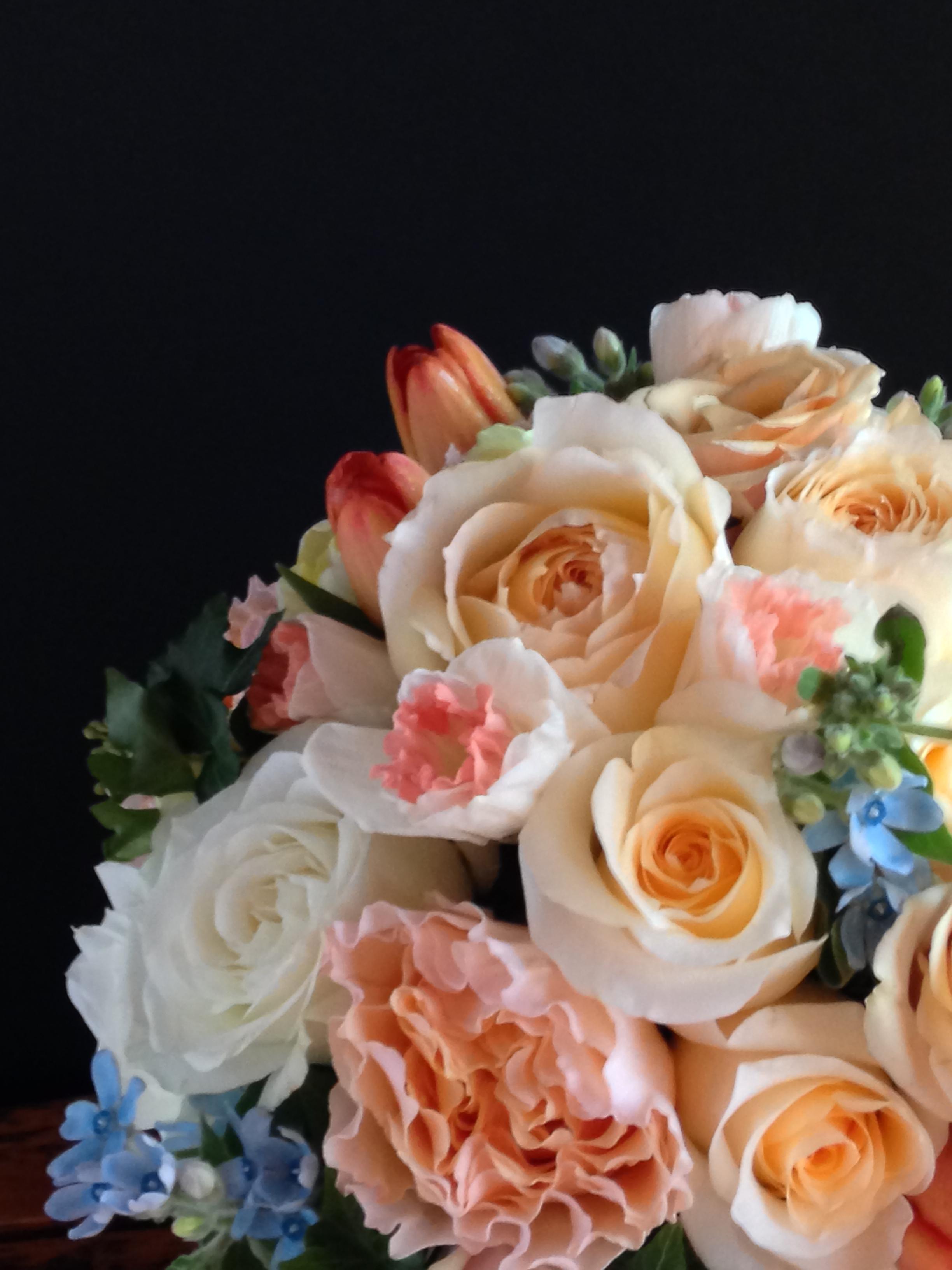 Photo by Catherine G. Damwood LLC, Image of Brides Bouquet