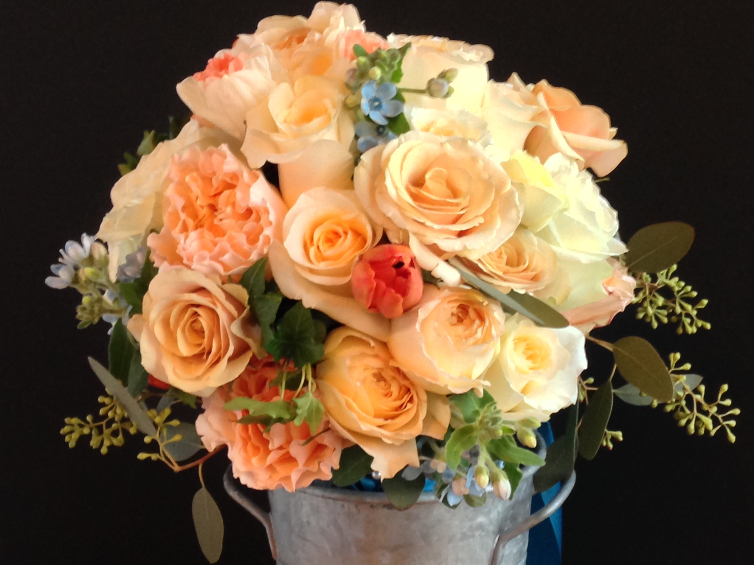 Photo by Catherine G. Damwood LLC, Image of Brides Bouquet