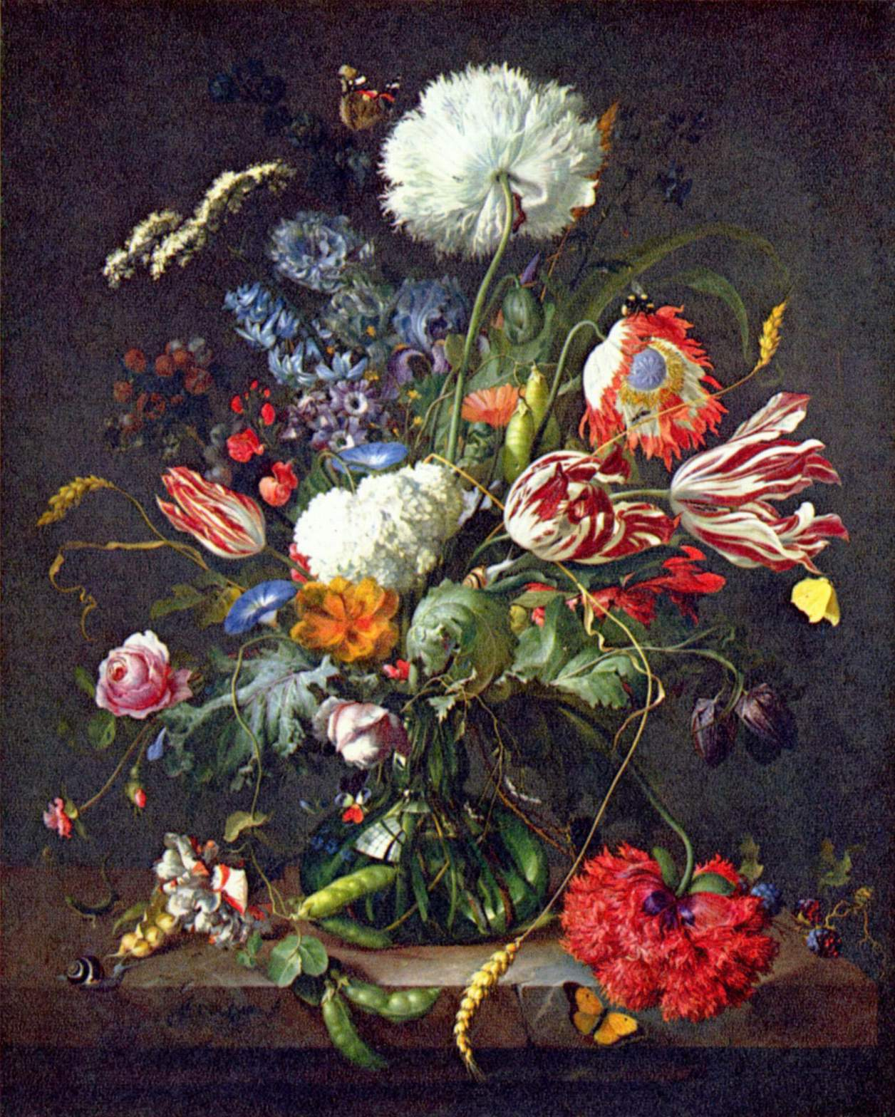 Jan Davidsz. de Heem (Dutch Baroque painter, 1606-1683-84) Still Life