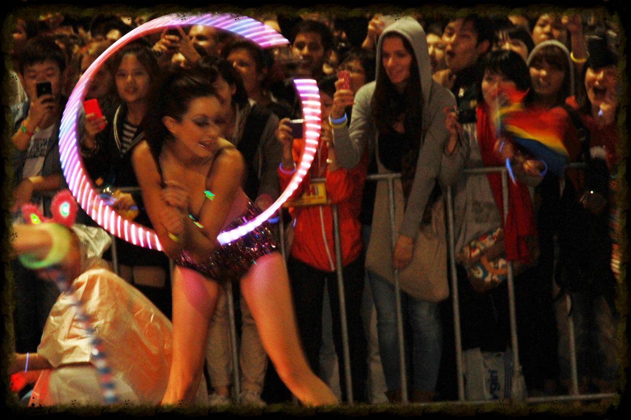 in the Sydney Mardi Gras parade