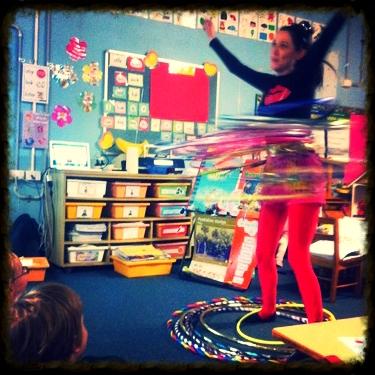 Kindergarten hooping