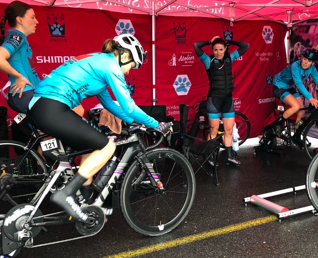 Getting warmed up for the ITT.