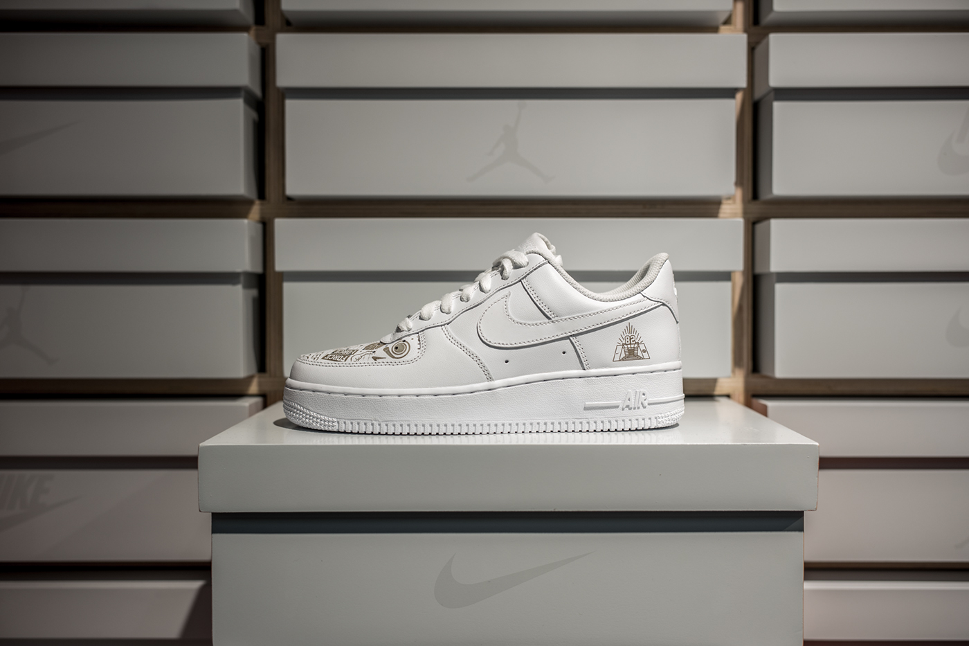NIKE Air Force1 Yohood 2017