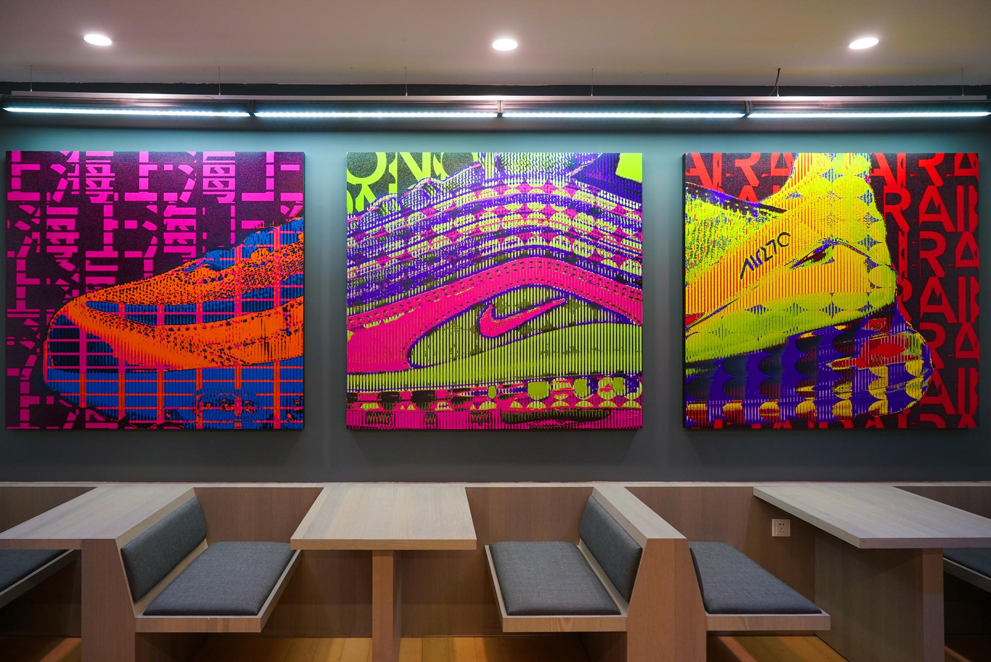 NIKE Campus Art Pieces