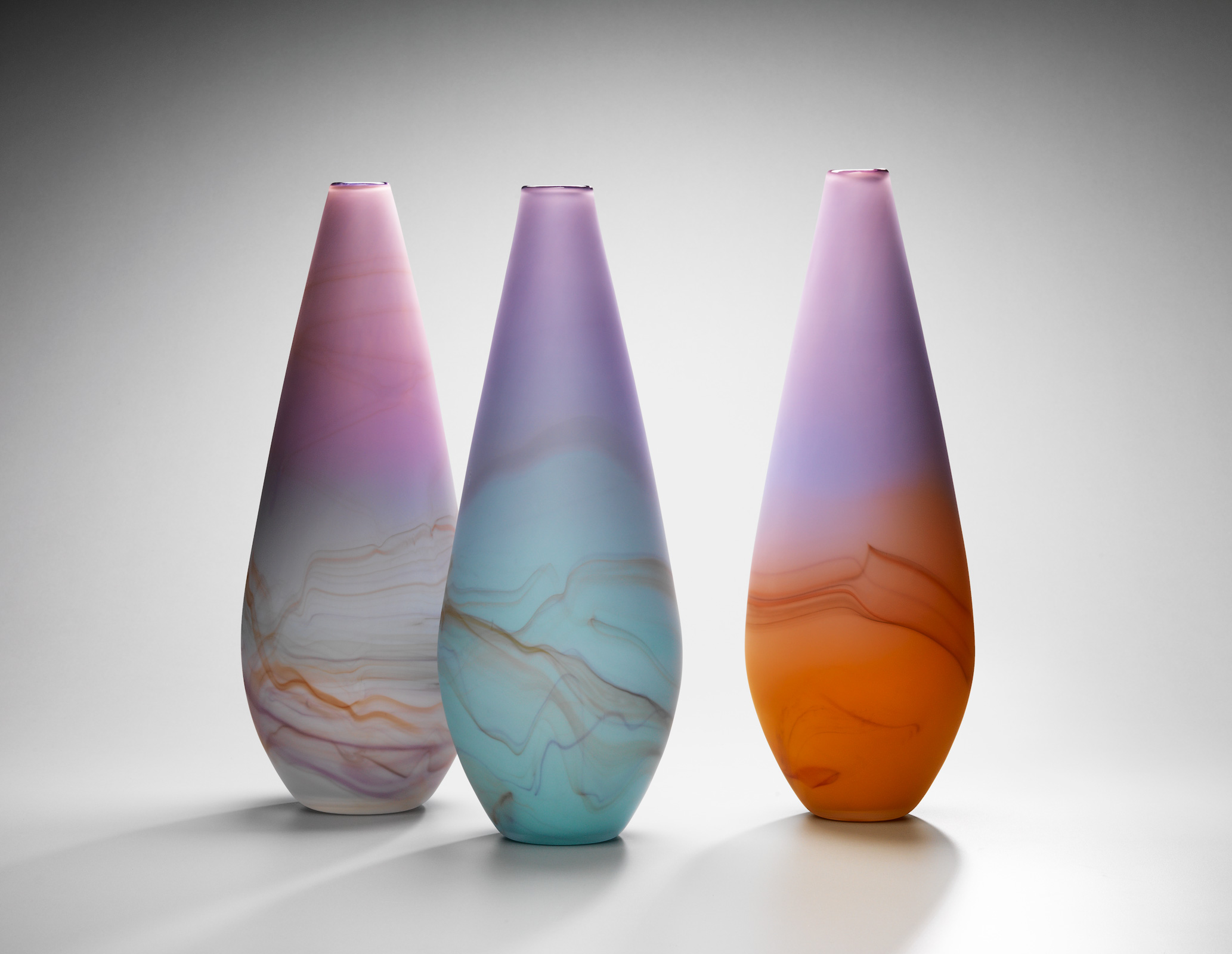 SUNSET, SUNRISE VASE