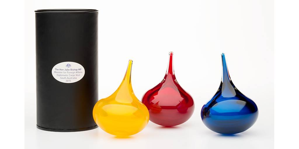 Julia Bishop Glass Gift By Llewelyn Ash