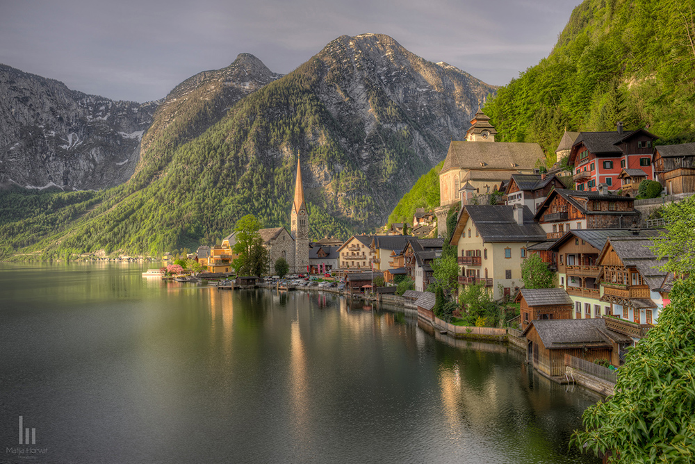 """Iconic view photographed from """"Römisches"""" district"""