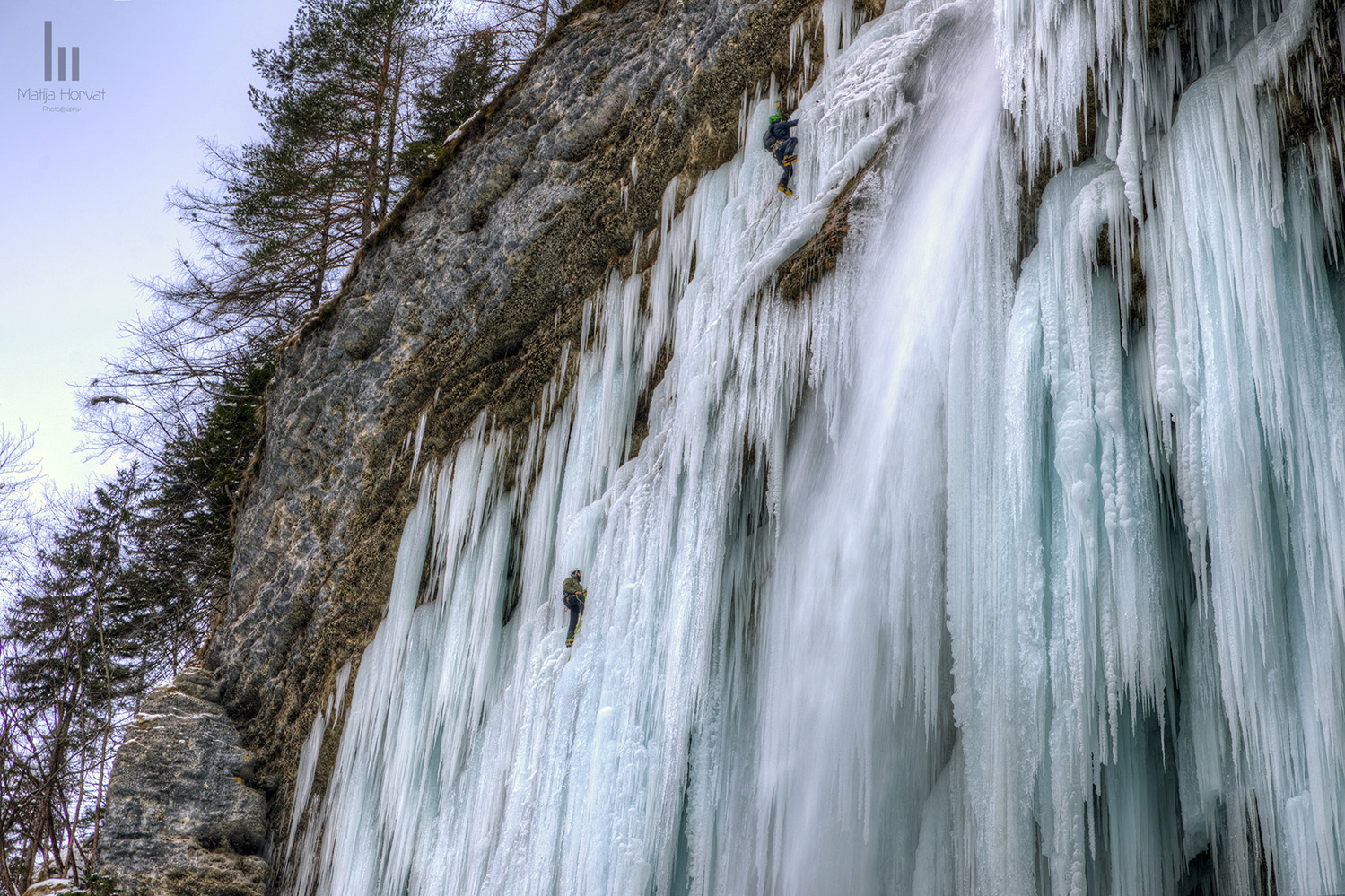 Ice-climbers