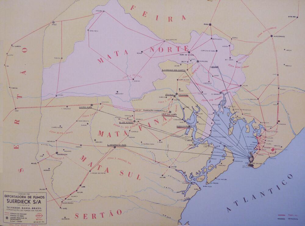 Mata tobacco Map