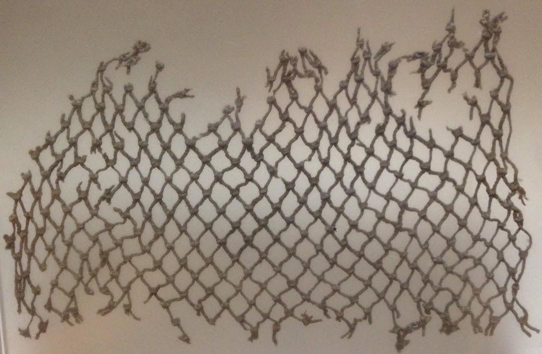 Cotton fishing net