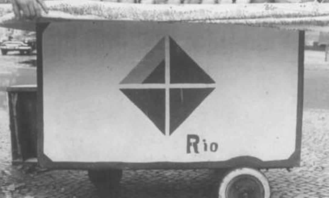Rio de Janeiro centenary logo
