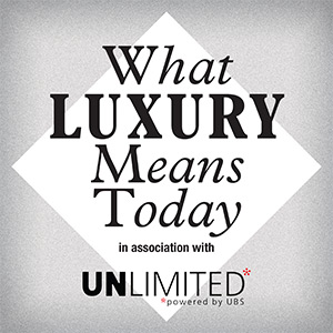 What luxury means today