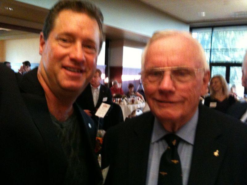 David Meerman Scott and Neil Armstrong