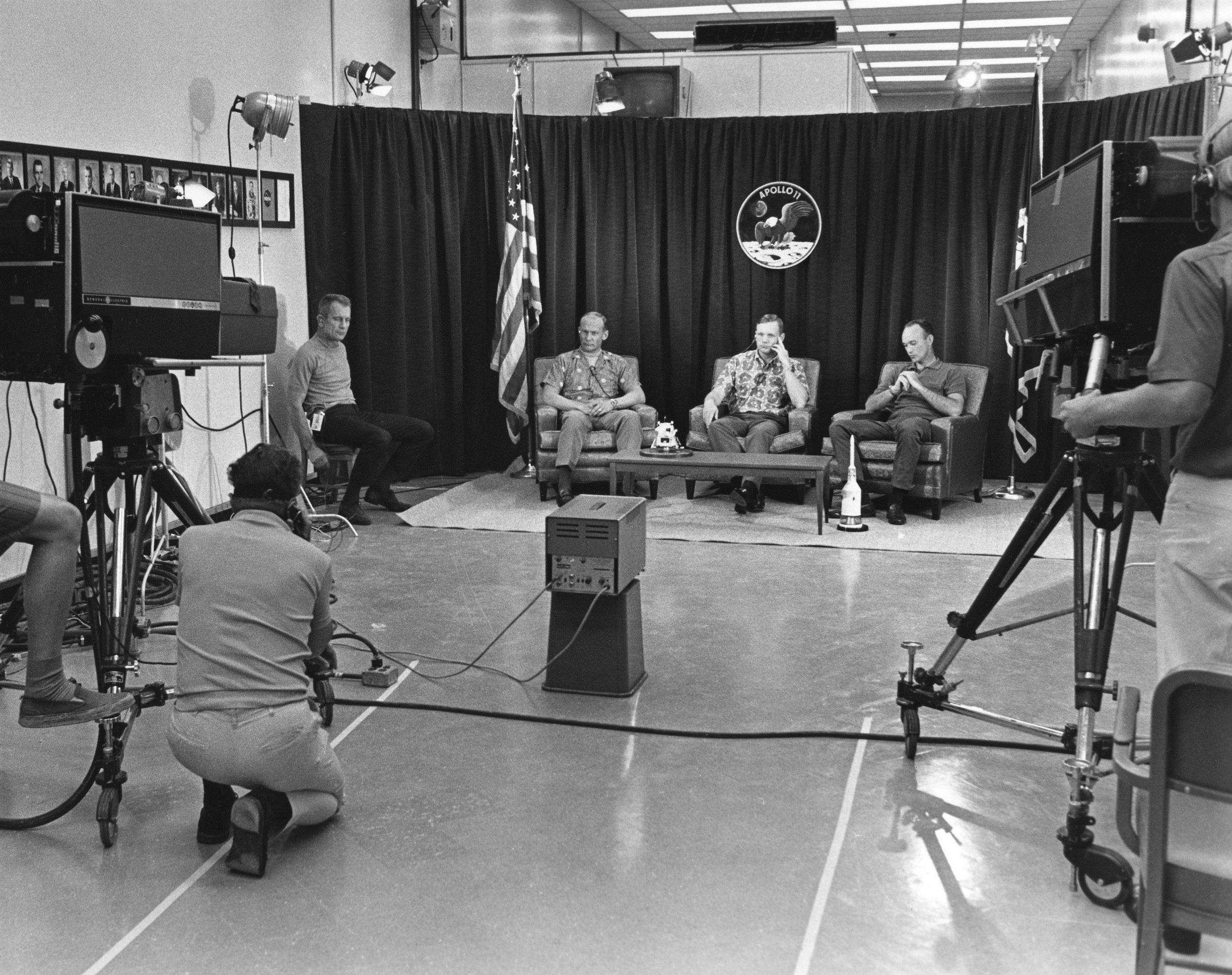 Apollo 11 press conference