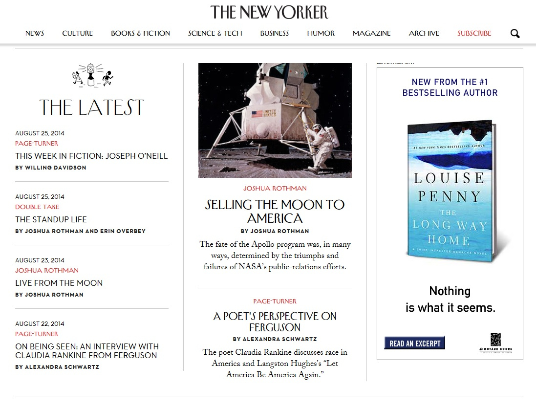 click on the image above to go to the review on The New Yorker's website.