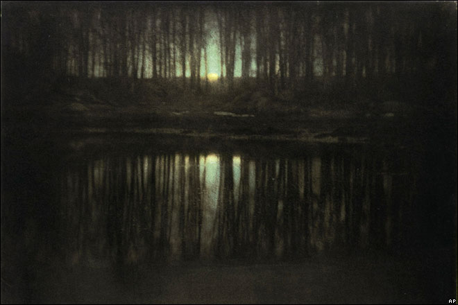 Steichen's the pond Moonlight