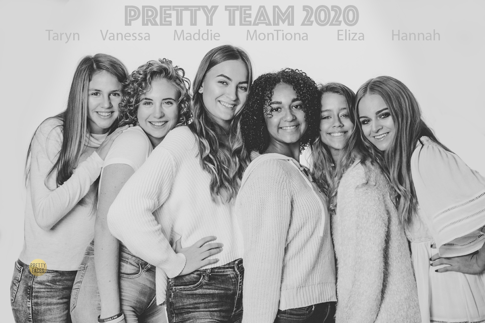 Pretty Team 20's Announcement Shoot