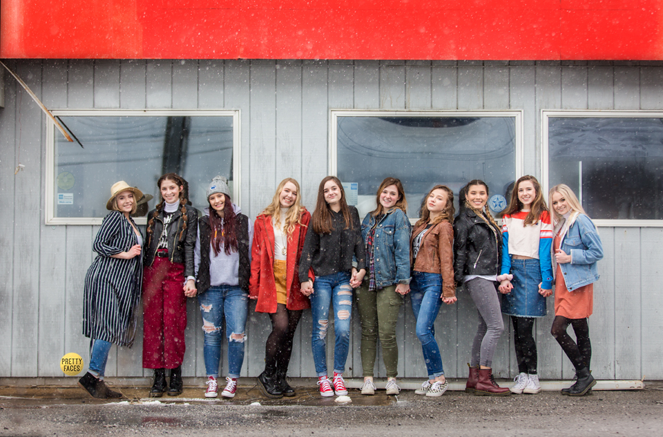 Gas Station Shoot featuring the Model Teams from Class of 2019 & 2020