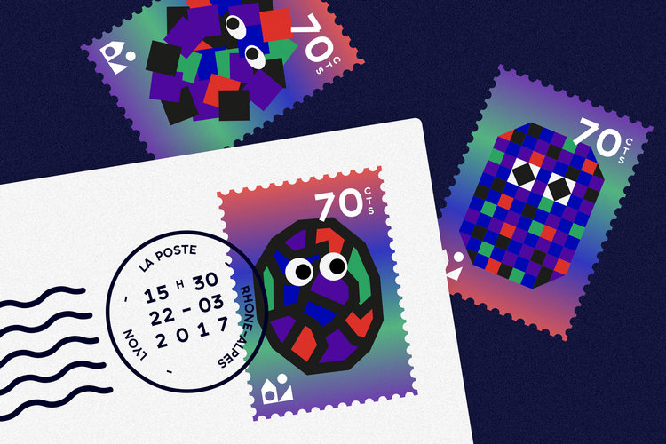 Maison Tangible : Alles Gut stamps