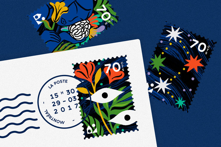 Maison Tangible : Delphine Dussoubs stamps