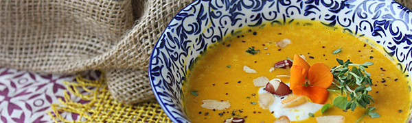 Malaysian Spiced Pumpkin Soup by The Detox Kitchen