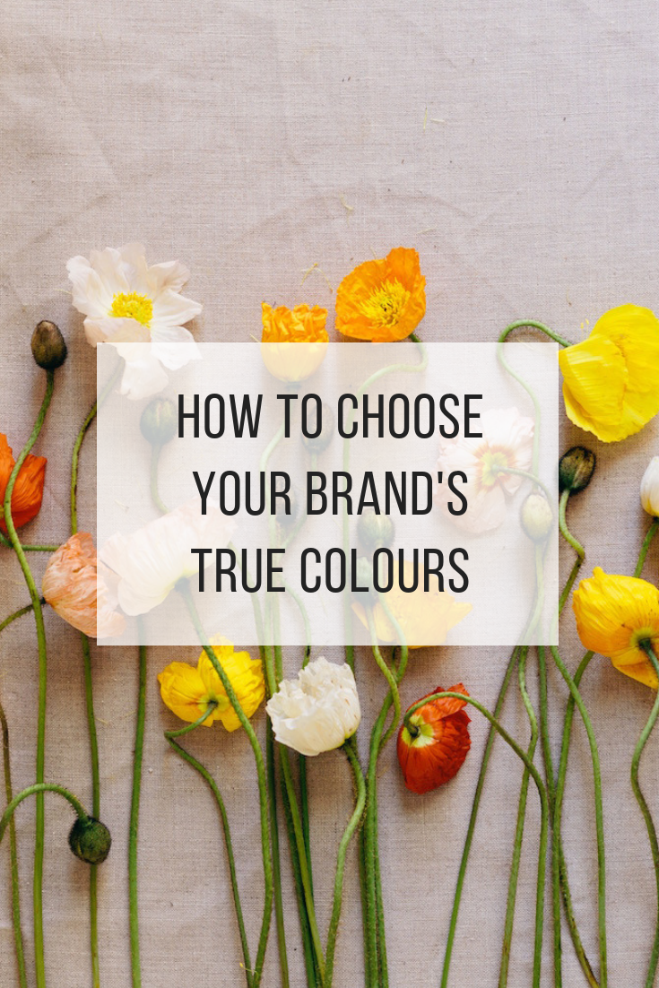 How to choose your brand's true colours
