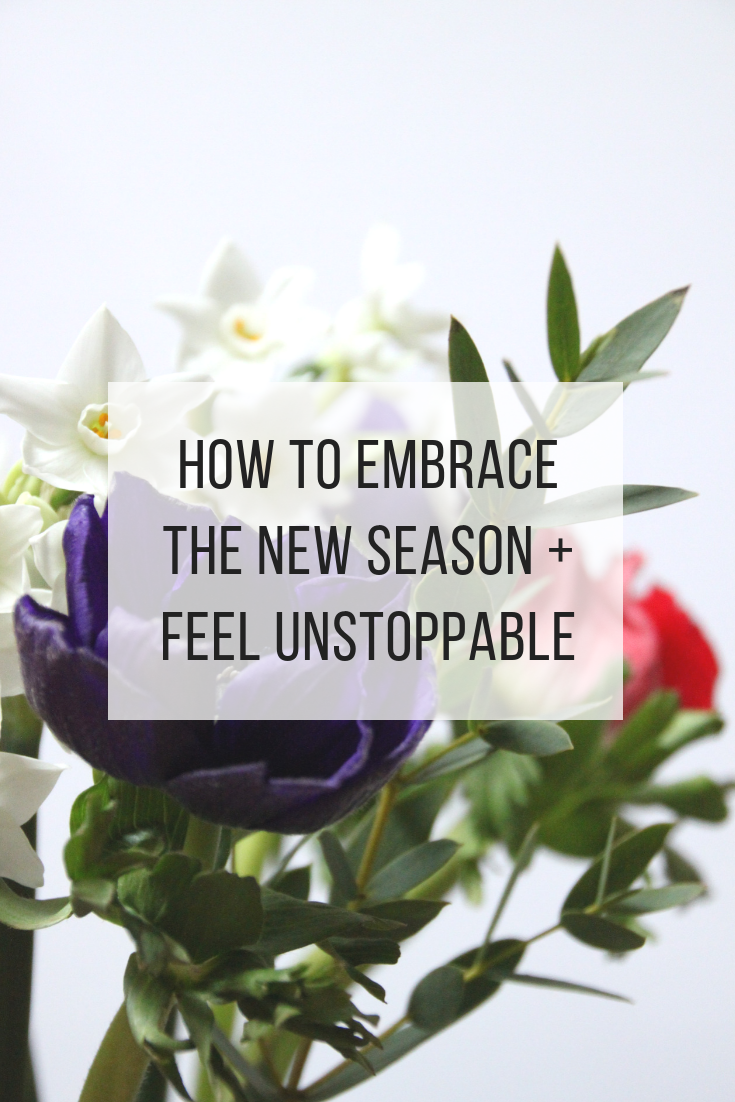 How to embrace the new season