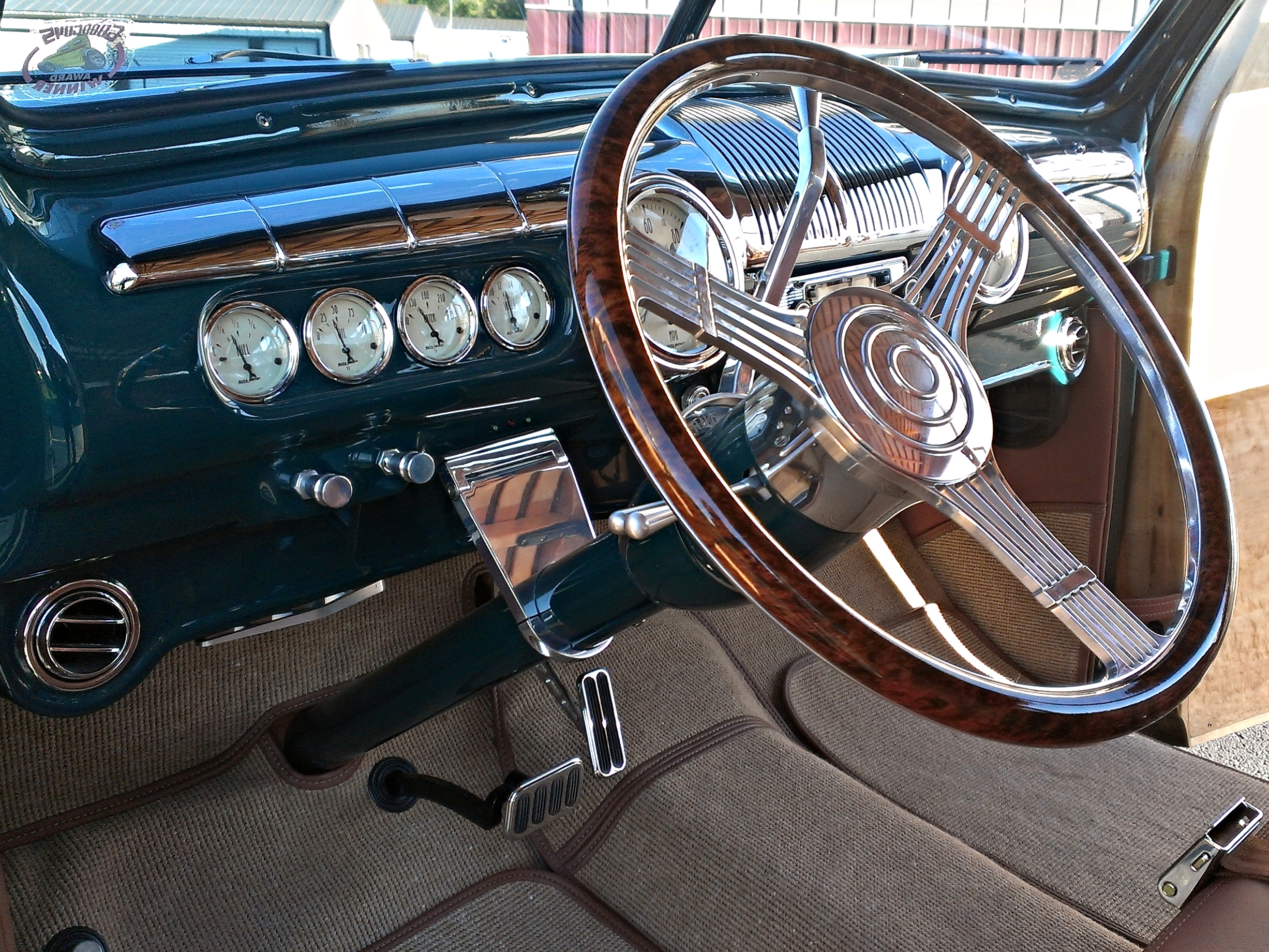 1942 Woody Wagon Interior