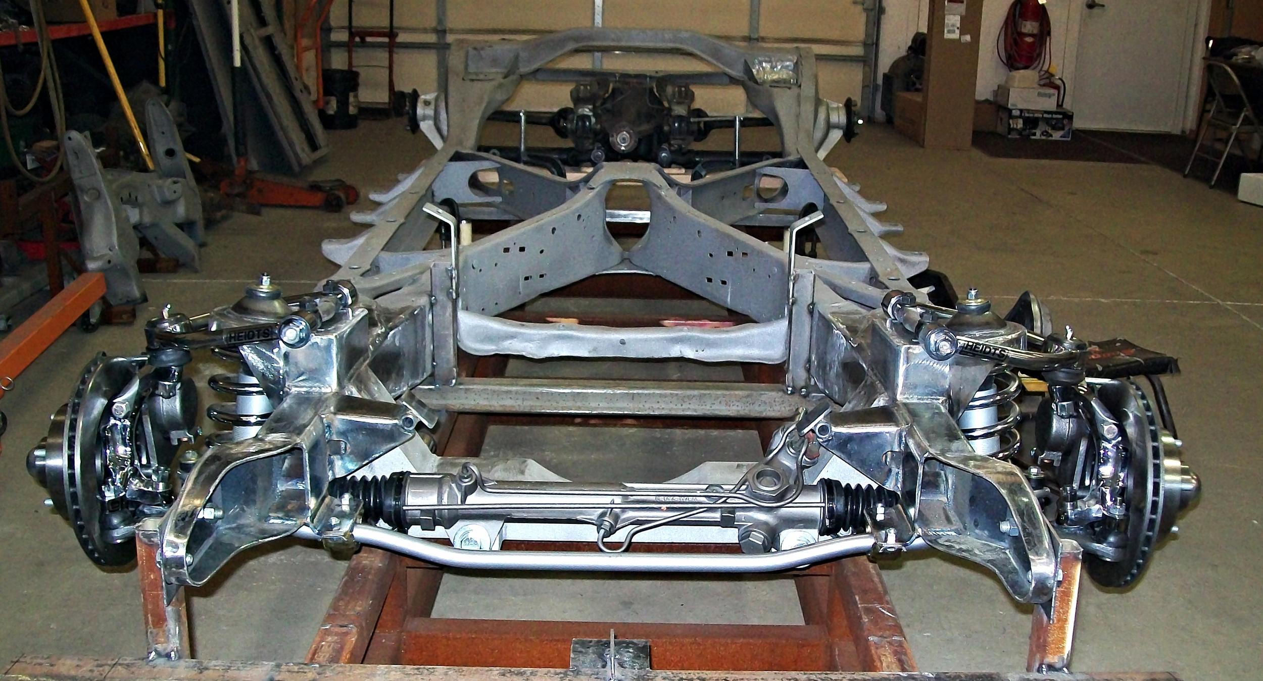 New Mustang II Front Suspension